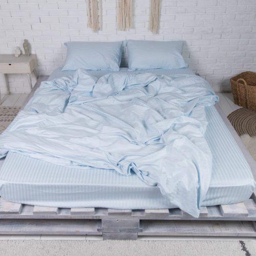 Купить постельное белье из страйп сатина