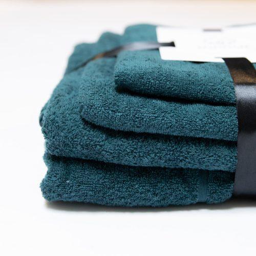 Комплект банных полотенец Изумруд